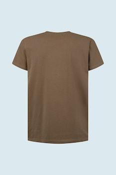 Pepe Jeans London, Original Basic kerek nyakú póló, Khaki