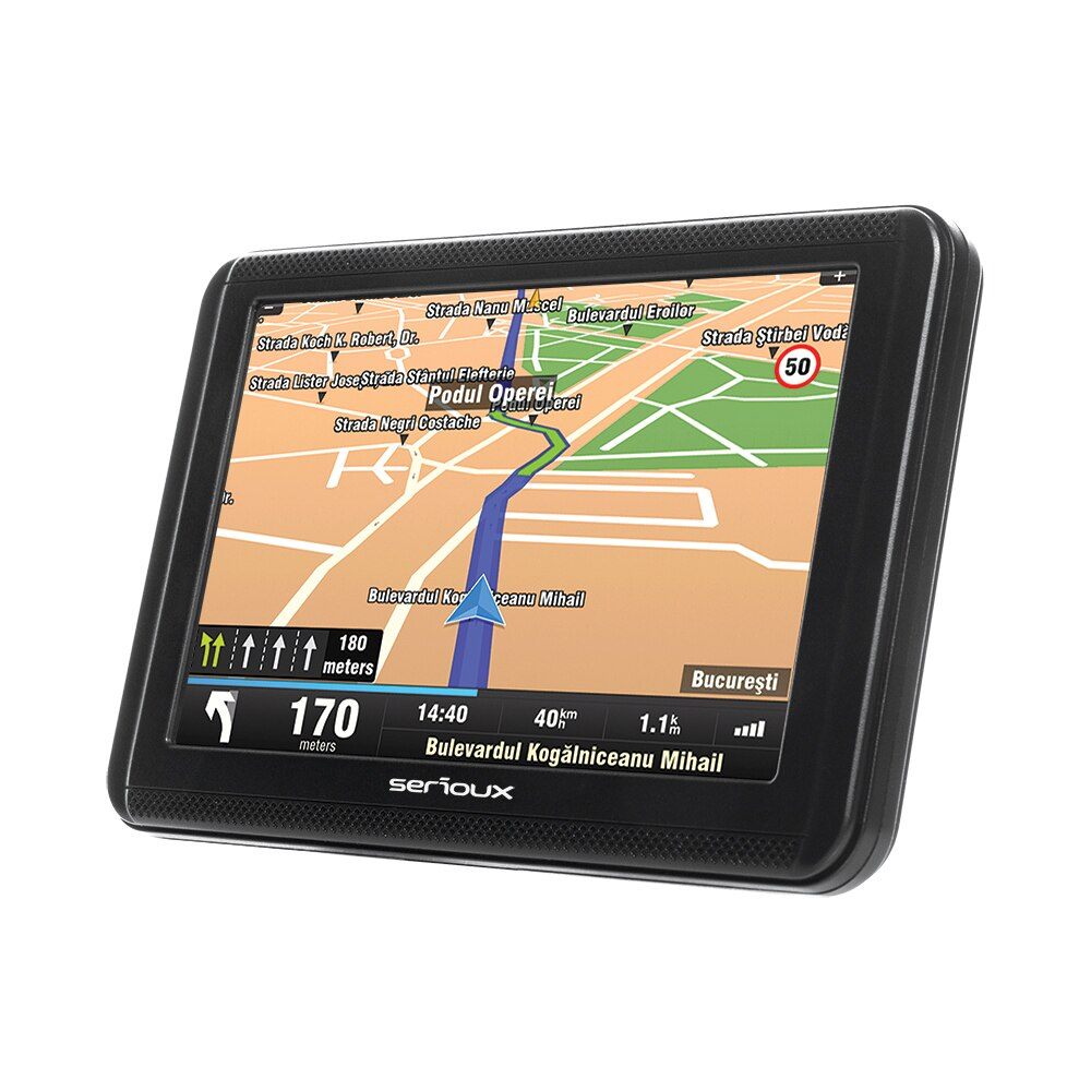 "Fotografie Sistem de navigatie Serioux Urban Pilot UPQ500, diagonala 5"", fara harta"