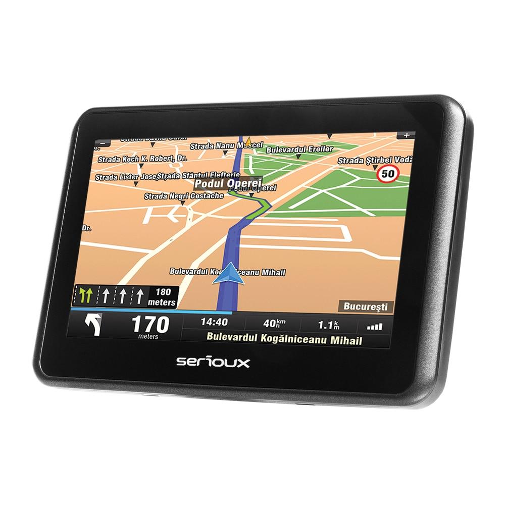 "Fotografie Sistem de navigatie Serioux Urban Pilot UPQ430, diagonala 4.3"", fara harta"