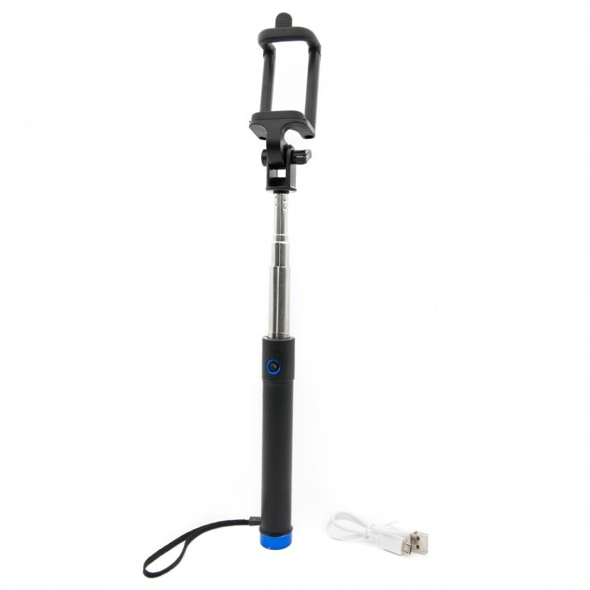 Fotografie Bluetooth Selfie Stick Tellur M76BF, Albastru