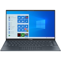 "Laptop ultraportabil ASUS ZenBook 14 UM425UA cu procesor AMD Ryzen™ 5 5500U pana la 4.00 GHz, 14"", Full HD, 8GB, 512GB SSD, AMD Radeon™ R5 Graphics, Windows 10 Home, Pine Grey"