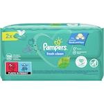 Мокри кърпички Pampers Fresh Clean, 2 пакета x 52, 104 броя