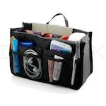 Praktikus táskarendező fekete színben