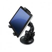 Art AX-01 univerzális tapadókorongos / fejtámlára helyezhető autós tablet tartó 7-10cm-ig, fekete