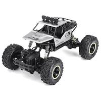 Rock Crawler 4WD távirányítós sziklamászó autó 1/16 Ezüst
