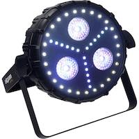Прожектор за сцена Algam Shirka, 55W, DMX ,18 RGB светодиоди LED, 3 типа ефекти, Дистанционно