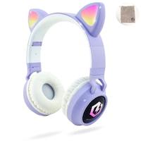 PowerLocus Buddy Bluetooth fejhallgató, ,vezeték nélküli fül köré illeszkedő összehajtható