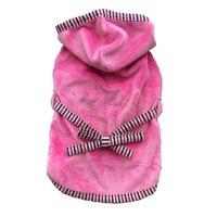 Halat de baie roz, L 35 cm lungime
