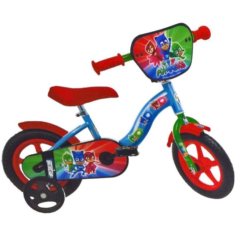 Fotografie Bicicleta Dino Bikes pentru copii, 10'', Eroii in Pijama, Albastru