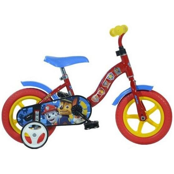Fotografie Bicicleta Dino Bikes pentru copii, 10'', Paw Patrol, Rosu