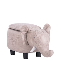 Детска табуретка Carmen слон, сив