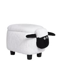 Детска табуретка Carmen овца, бял