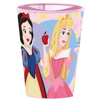 Disney Hercegnők műanyag pohár rózsaszín