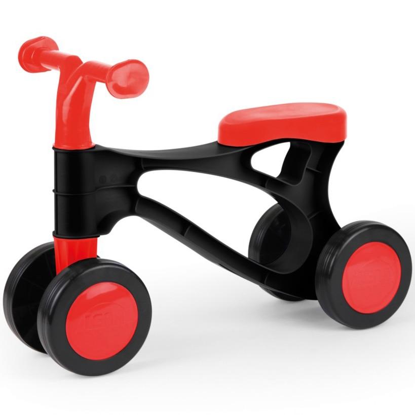 Fotografie Tricicleta fara pedale Lena - Primul meu scooter, negru/rosu