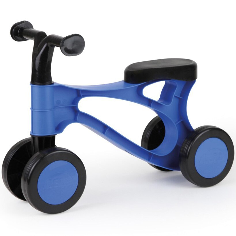 Fotografie Tricicleta fara pedale Lena - Primul meu scooter, albastru/negru