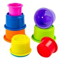 Чаши Подреди и Играй Lamaze, L27870, многоцветни, 8 бр.