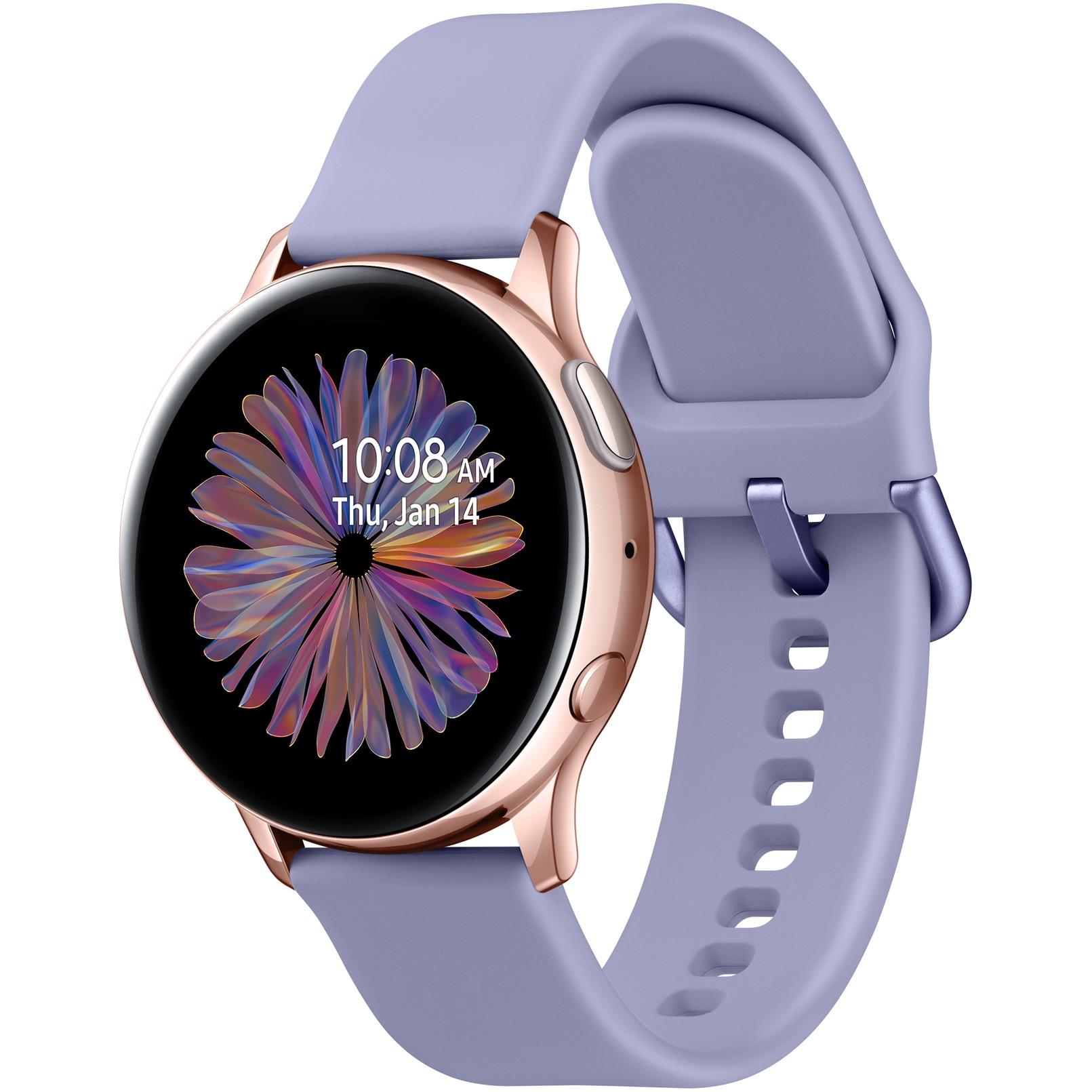 Fotografie Ceas smartwatch Samsung Galaxy Watch Active 2, 40mm, Aluminiu BT - Rose Gold