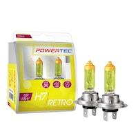 M-Tech Powertec Retro H7 12V DUO sárga