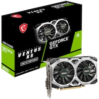 Placa video MSI GeForce® GTX 1650 D6 VENTUS XS OCV2, 4GB GDDR6, 128-bit