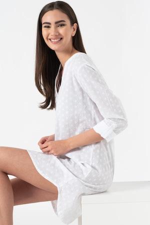 ESPRIT Bodywear, Deliah hímzett hálóing, Fehér