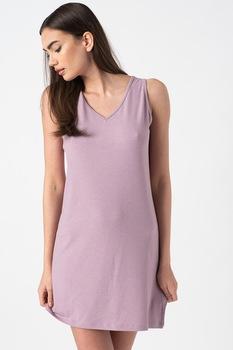 ESPRIT Bodywear, Dagna hálóing csipkeszegélyekkel, Púder rózsaszín