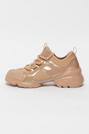 Gino Rossi, Sneaker bőrszegélyekkel, Bézs, 40
