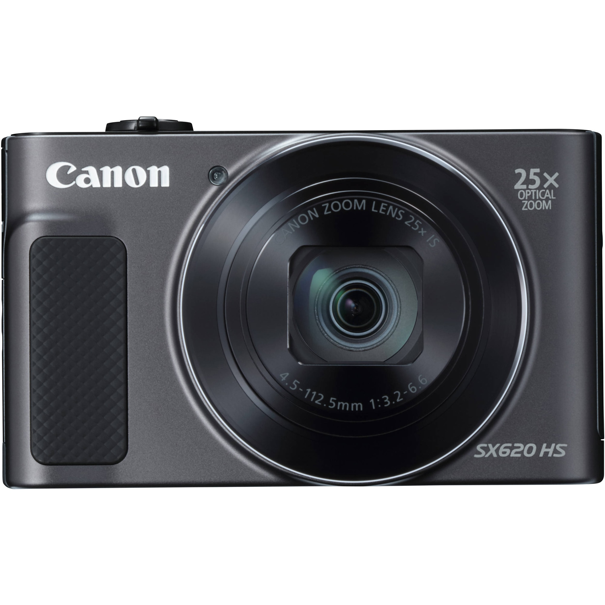 Fotografie Aparat foto digital Canon SX620HS, 20.2MP, Negru + Card de memorie 16 GB + Husa