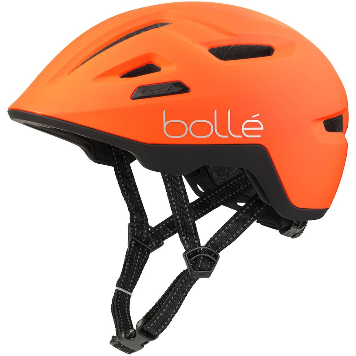Fotografie Casca ciclism Bolle Stance Matte Hi-Vis Orange, 59-62cm
