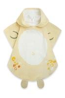 Tuc Tuc, Хавлиена кърпа тип пончо с дизайн на тигър, Оранжев
