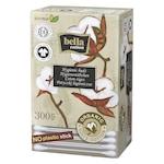 Betisoare igienice pe suport de hartie, Bella Cotton Bio, cutie carton, 300 buc