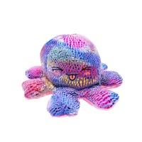 Kifordíthatós hangulatváltós Plüss polip, 20cm , sokszínű-rózsaszín Selling Depot ®