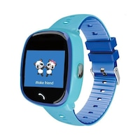 SoVogue okosóra gyerekeknek, micro SIM-foglalat, GSM-hely, handsfree, SOS, 1,22 hüvelykes LCD érintőképernyő, kék