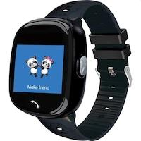 SoVogue okosóra gyerekeknek, micro SIM-foglalat, GSM-hely, handsfree, SOS, 1,22 hüvelykes LCD érintőképernyő, fekete