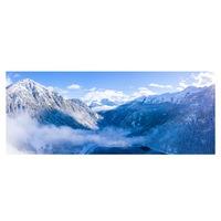 Öntapadó fotótapéta, Havas hegyek, 90x200 cm