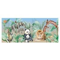 Öntapadó fotótapéta, Állatok a Safariból, 90x200 cm