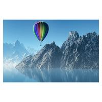 Öntapadó fotótapéta, Hőlégballon, 110x170 cm