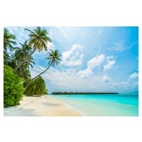 Öntapadó fotótapéta, Maldív-szigetek Beach, 110x170 cm