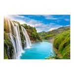 Öntapadó fotótapéta, Kínai vízesés, 110x170 cm