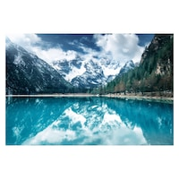 Öntapadó fotótapéta, Jeges tó, 110x170 cm