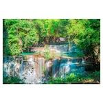 Öntapadó fotótapéta, Gyönyörű vízesés, 110x170 cm