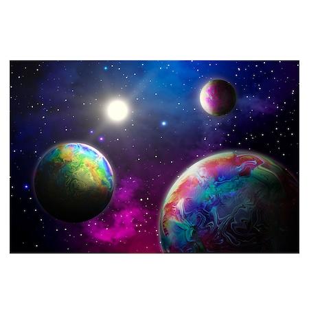 Öntapadó fotótapéta, Bolygók az Univerzumban, 110x170 cm