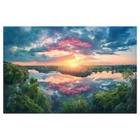 Öntapadó fotótapéta, Napnyugta, 110x170 cm