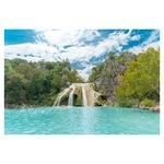 Öntapadó fotótapéta, Vízesés, 110x170 cm