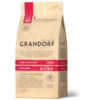 Суха храна за котки Grandorf, Holistic & Hypoallergenic, За Възрастни, Домашни, Агне/Кафяв Ориз, 2 кг