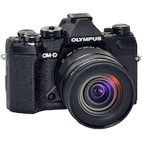 Фотоапарат Мirrorless E-M5 Mark III + Обектив M.Zuiko Digital ED 12-45 мм F4.0 PRO, Черен/Черен