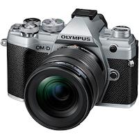 Фотоапарат Мirrorless E-M5 Mark III + Обектив M.Zuiko Digital ED 12-45 мм F4.0 PRO, Сребрист/Черен