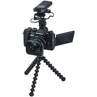 Фотоапарат Мirrorless E-M5 Mark III + Обектив M.Zuiko Digital ED 12 мм F2.0 & repotofon LS-P4 Linear PCM, Vlogger Kit, Черен
