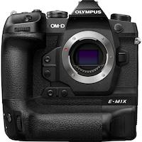 Фотоапарат Мirrorless Olympus E-M1X Body, Професионален, 20.4MP, Micro 4/3, IS вграден 5 axe, 4K, HighRes (статив/ръчно), Максимално 60 fps, Pro Capture, Филтър Live ND, Напреднала система за защита от атмосферни влияния, Черен