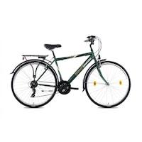 Kerékpár Landrider Schwinn Férfi 21 SP Zöld