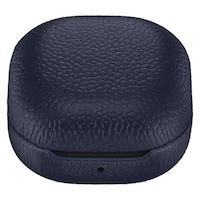 Предпазен калъф Samsung, За Buds Live / Pro, Leather, Navy